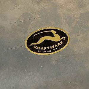 kraftware Other - VINTAGE KRAFTWARE VINTAGE ICE BUCKET NYC 5th